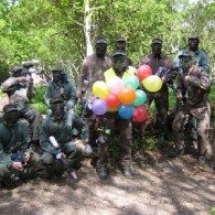 Enterrement de vie de garçon-ballon-Paintball75