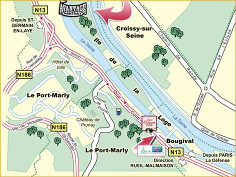 Paintball 75 5 minutes de paris - Les pyramides avenue de saint germain port marly ...