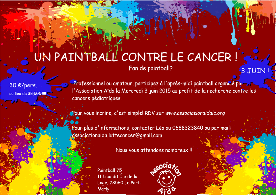 Un Paintball contre le cancer