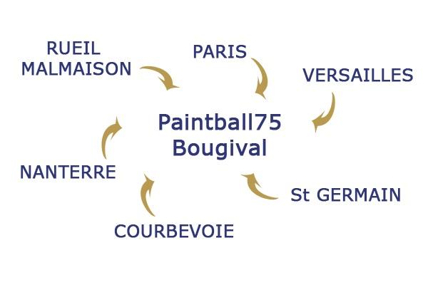 Situation Paintball 75 Paris