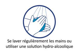 Se laver régulièrement les mains avec du savon