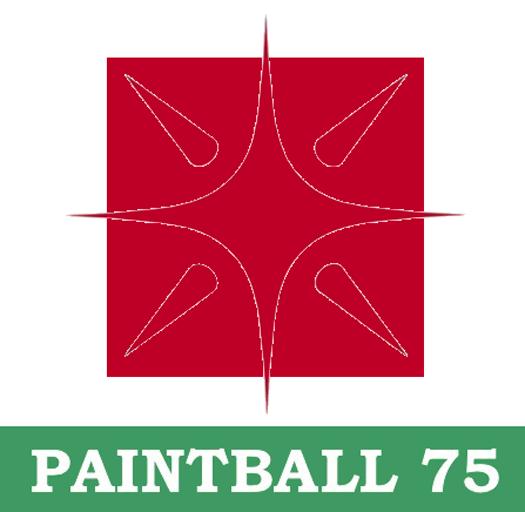 Logo Paintball 75 inspiré par le logo de la région Île de France